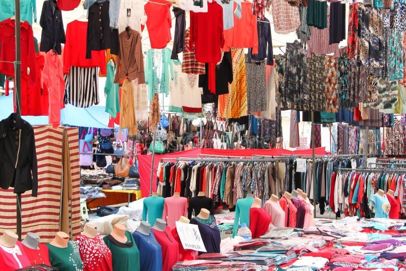 Rua de um bazar oriental fotografia de stock royalty free