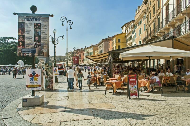 Rua de Verona fotos de stock royalty free