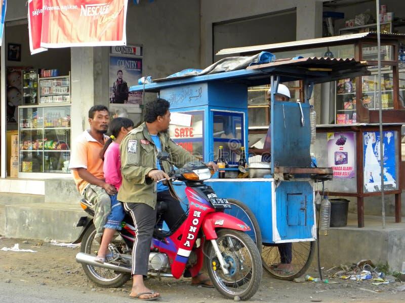 Rua de Yogyakarta fotos de stock royalty free