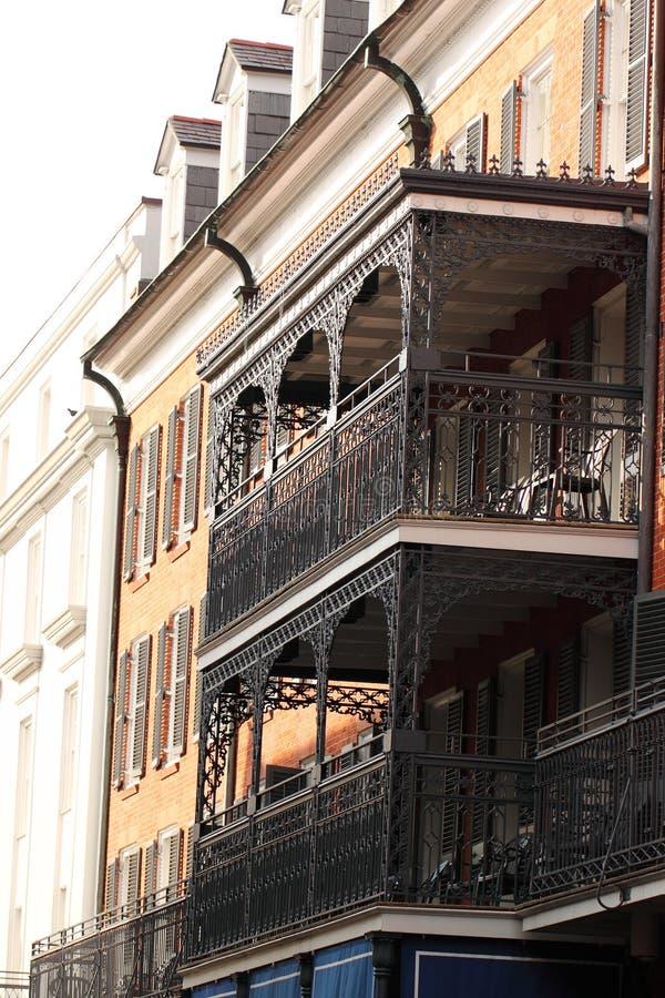 Rua do bairro francês de Nova Orleães fotos de stock