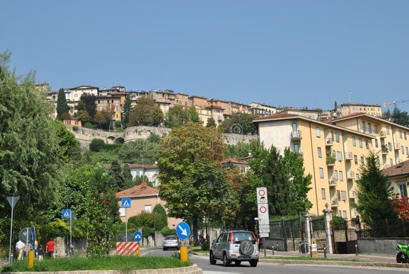 Rua do Bergamo fotos de stock royalty free