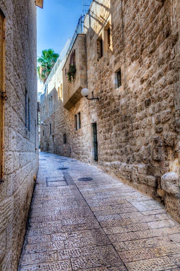 Rua do Jerusalém imagens de stock royalty free