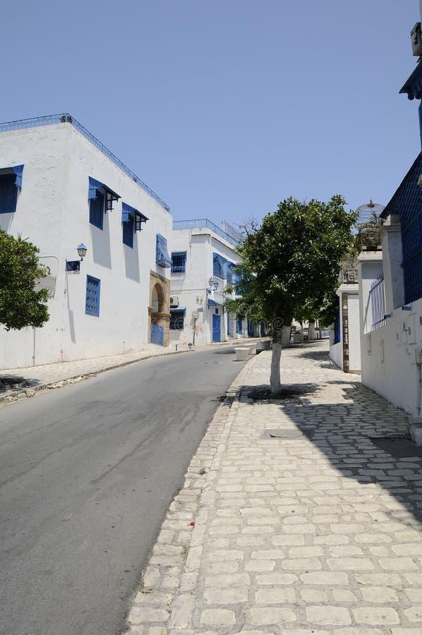 A rua do tunisian pequeno imagem de stock royalty free
