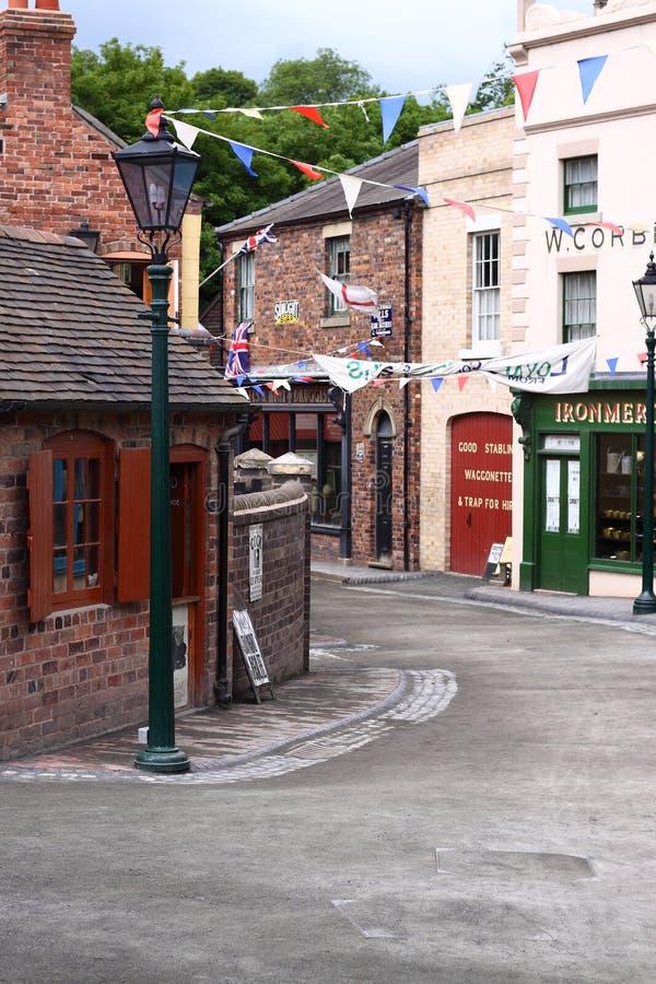 Rua do Victorian fotos de stock