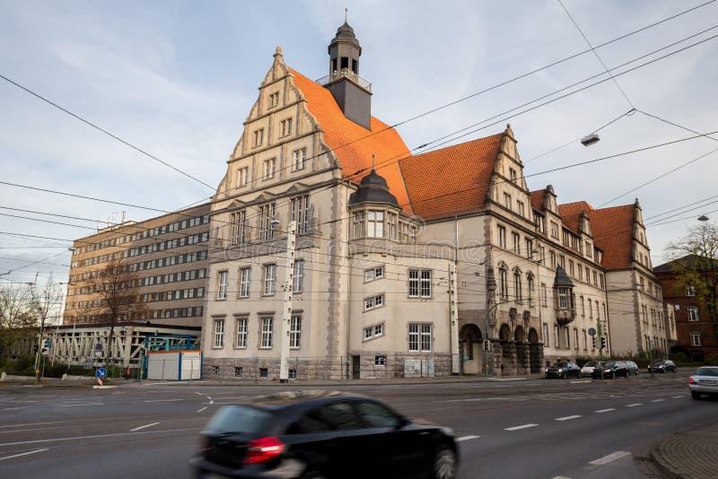 Download Rua E Bielefeld De Construção Alemanha Foto de Stock - Imagem de quadrado, amarelo: 80102200