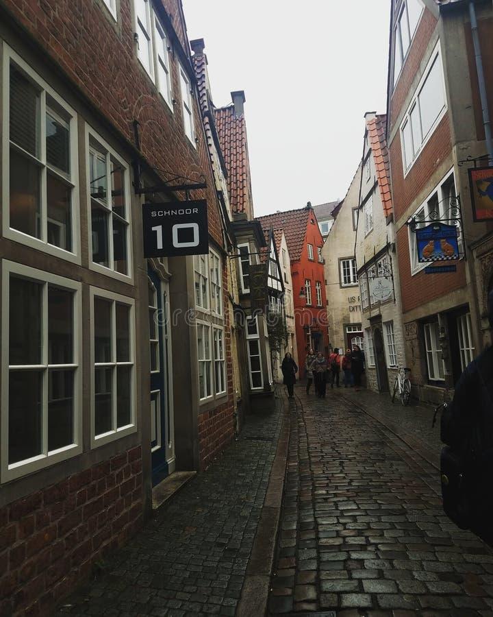 Rua em Alemanha imagem de stock royalty free