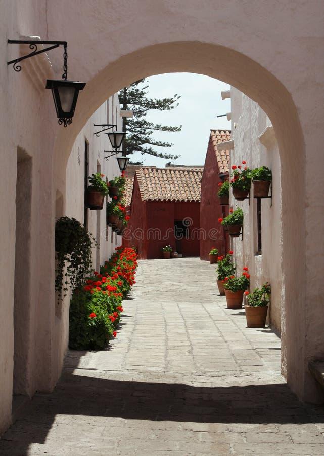 Rua em Arequipa fotos de stock