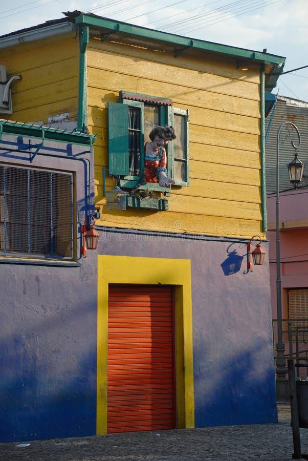Rua em Buenos Aires, Argentina. imagem de stock