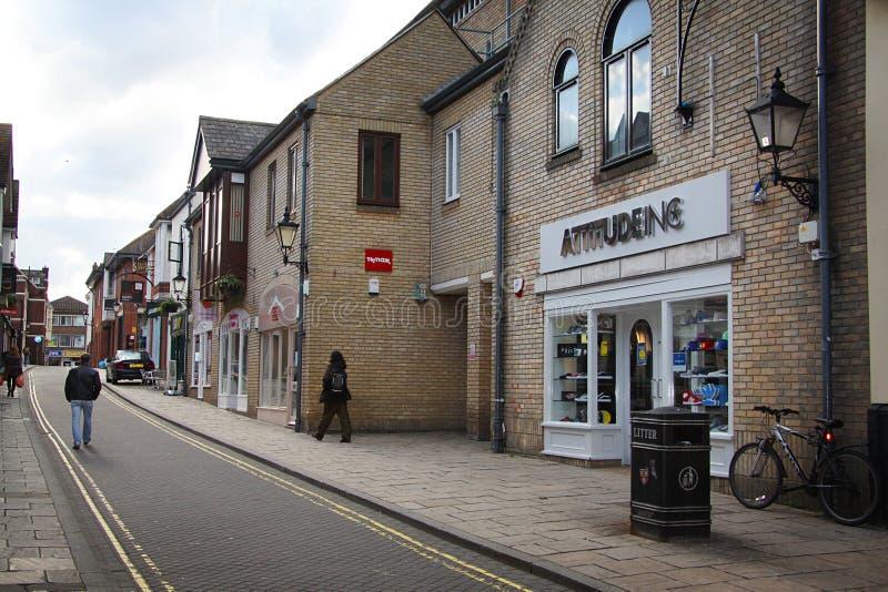 Rua em Colchester fotos de stock