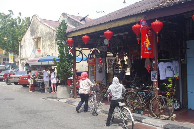 Rua em Georgetown imagens de stock