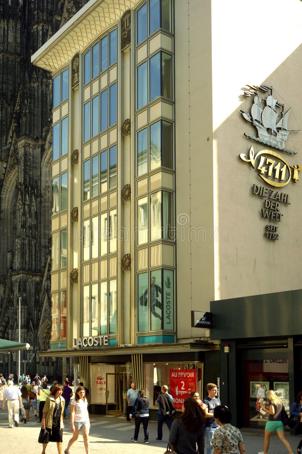 Rua em Koln, Alemanha imagem de stock
