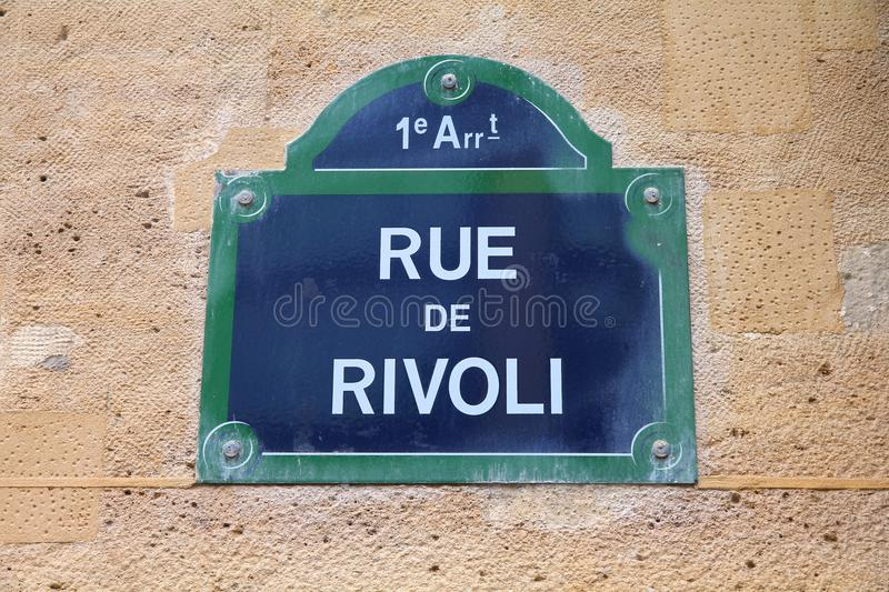 Rua em Paris imagem de stock royalty free