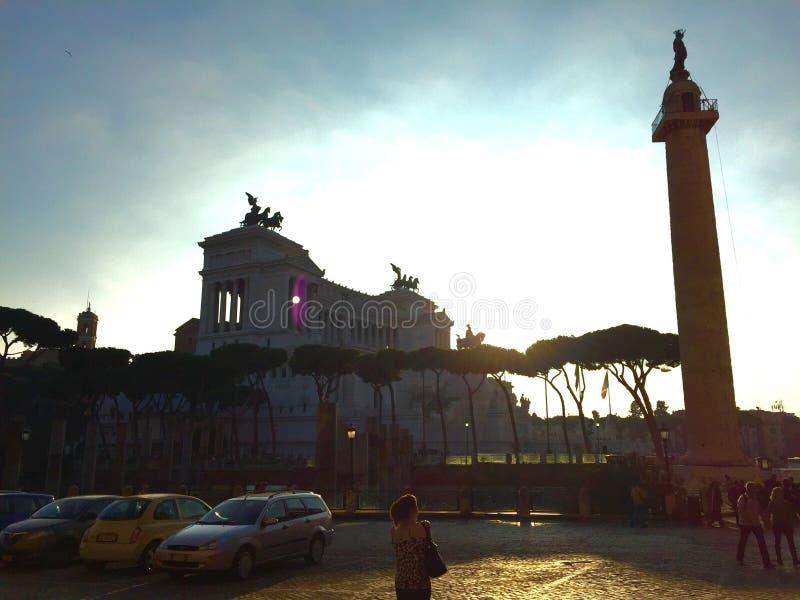 Rua em Roma imagens de stock