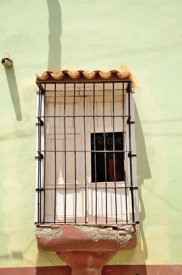 Rua em Trinidad, Cuba fotografia de stock
