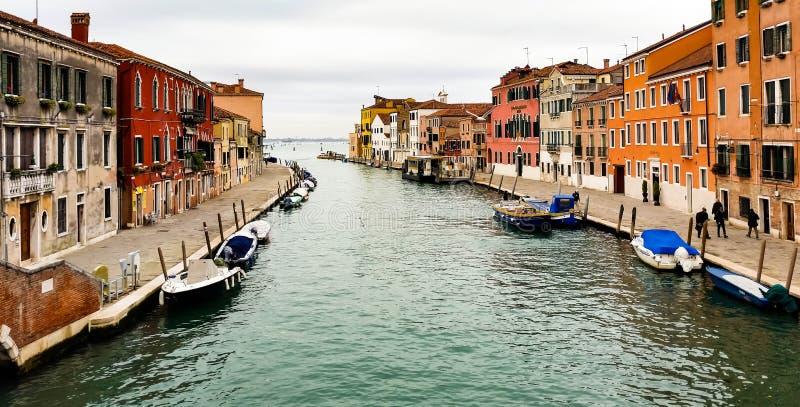 Rua em Veneza foto de stock
