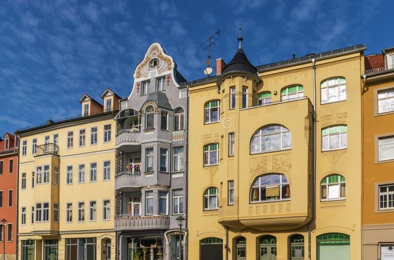 Rua em Weimar, Alemanha fotografia de stock royalty free