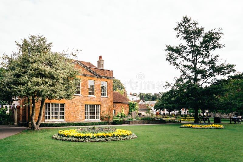 Rua em Winchester foto de stock royalty free