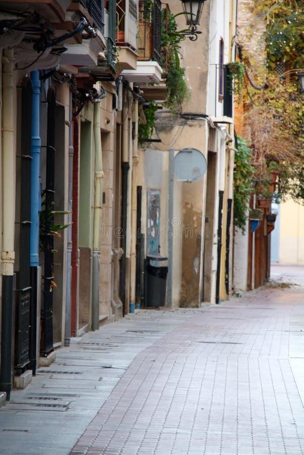 Rua espanhola fotos de stock royalty free
