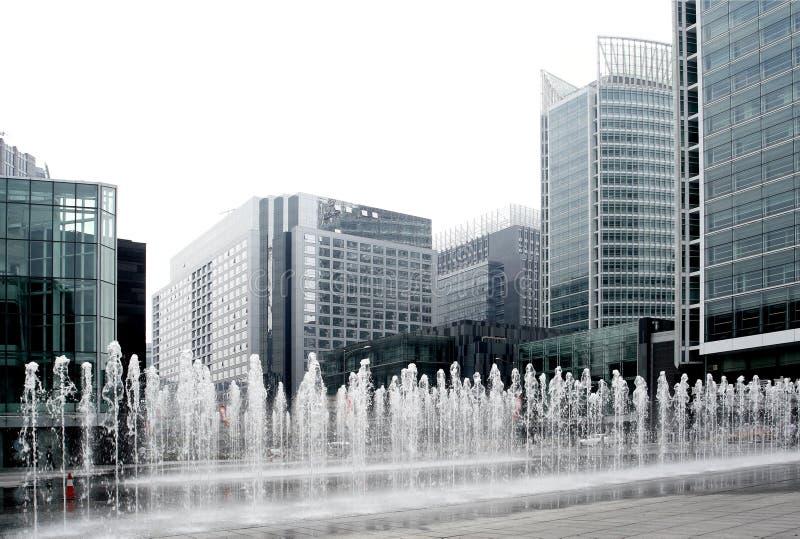 Rua financeira de Beijing. foto de stock royalty free