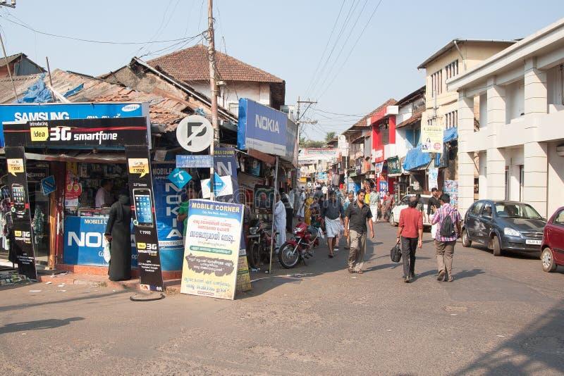 Rua indiana típica fotos de stock royalty free