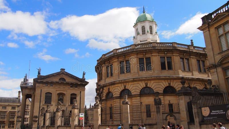 Rua larga em Oxford, Grâ Bretanha fotos de stock royalty free