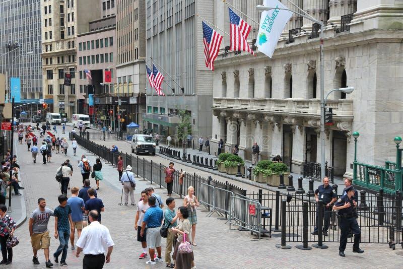 Rua larga, New York foto de stock royalty free