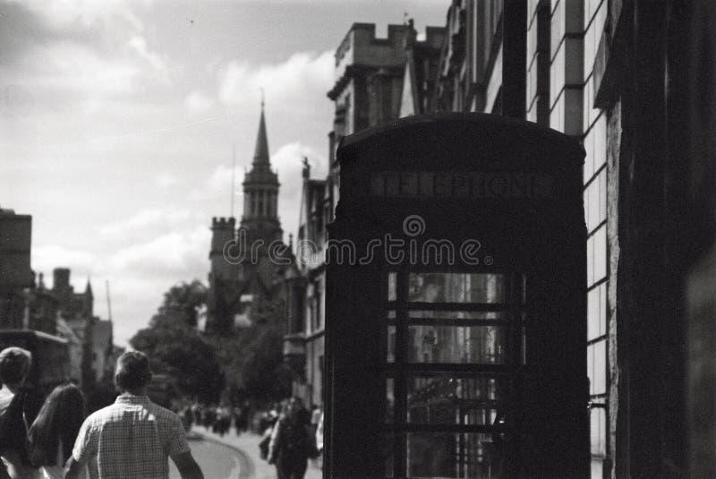Rua larga, Oxford fotos de stock