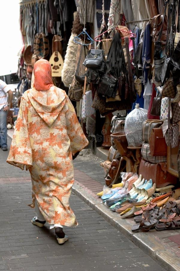 Rua marroquina 3 fotos de stock royalty free