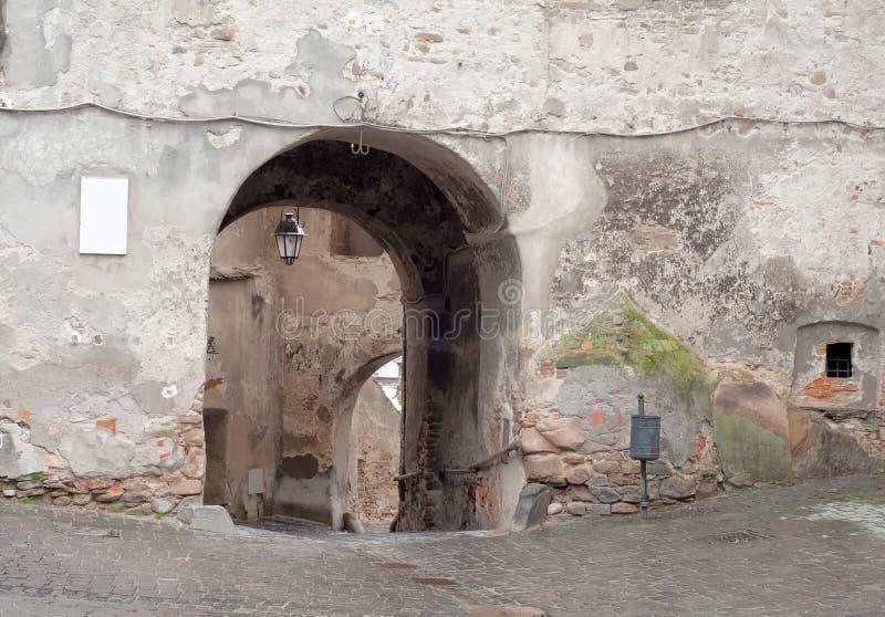 Rua medieval foto de stock