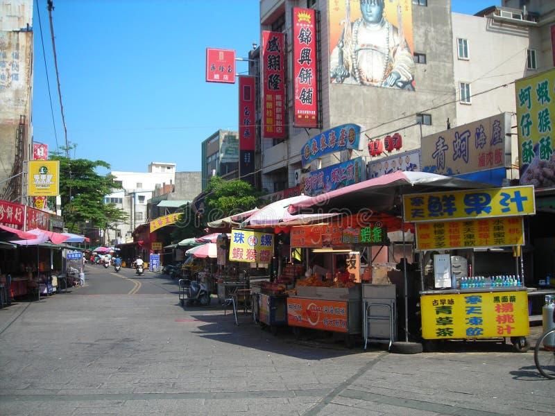 rua no grupo Taiwan do Lu imagens de stock