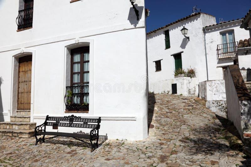 Rua no la Frontera de Castellar de fotografia de stock royalty free
