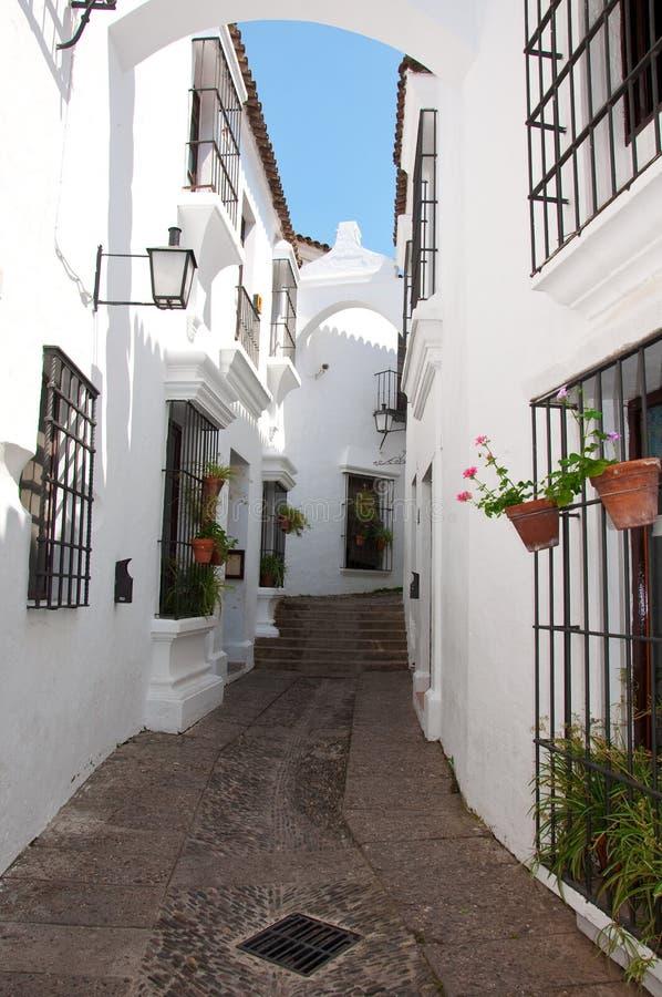 Download A Rua No Poble Espanyol. Barcelona, Spain Imagem de Stock - Imagem de telhado, cultura: 26511213