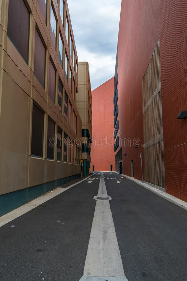 Rua ou passagem estreita imagens de stock