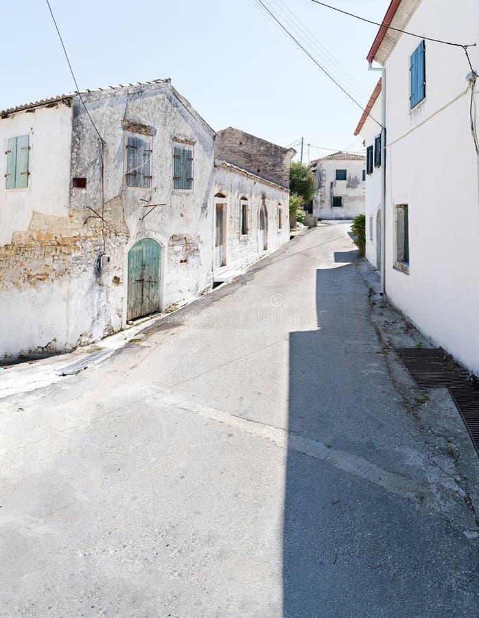 Rua principal de Rachtades fotografia de stock royalty free