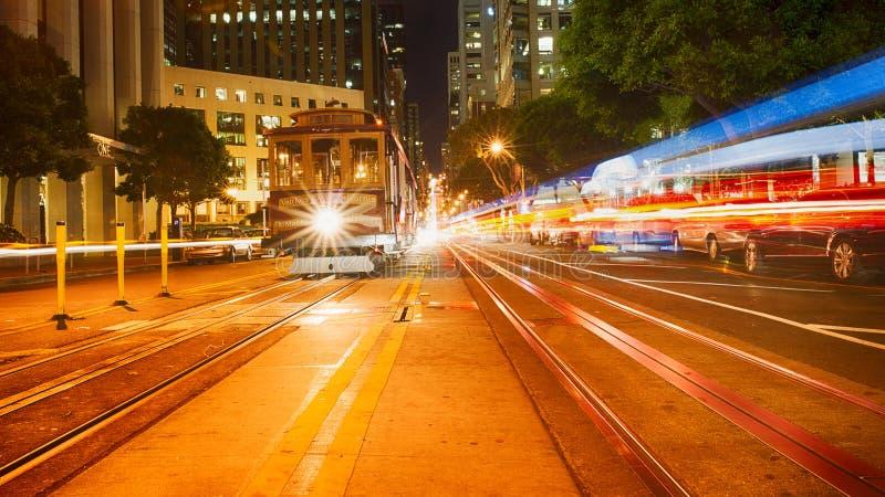 Rua San Francisco de Califórnia imagem de stock royalty free