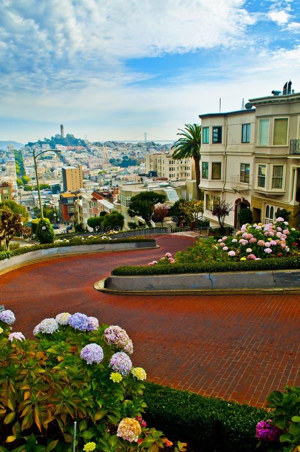 Rua San Francisco de Lombar fotos de stock royalty free