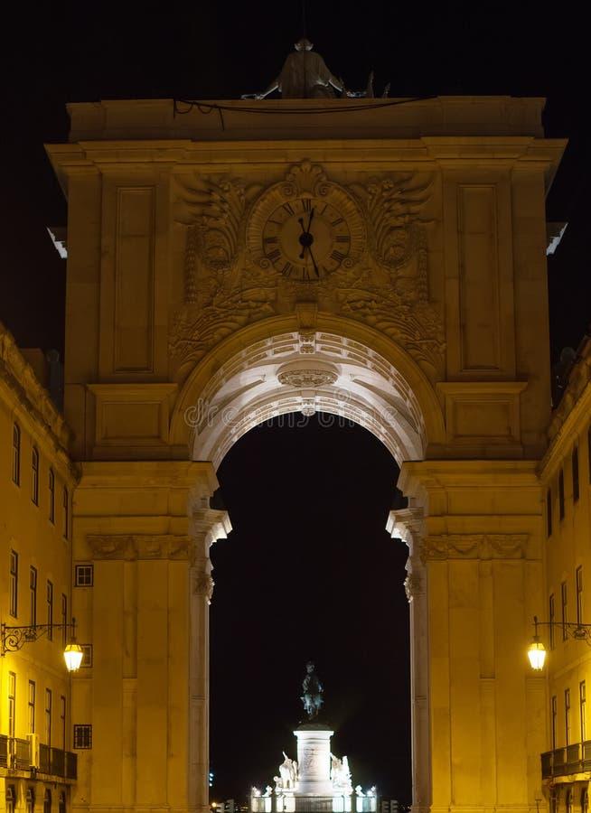 Rua trionfale Augusta Arch immagini stock libere da diritti