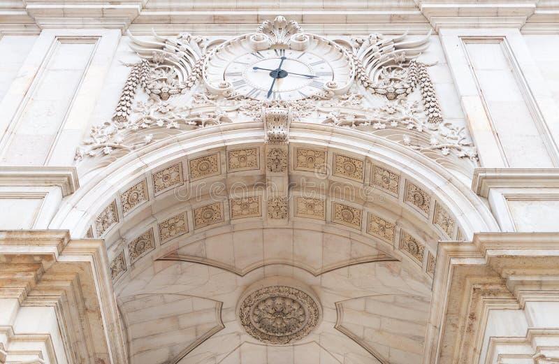 Rua trionfale Augusta Arch immagine stock