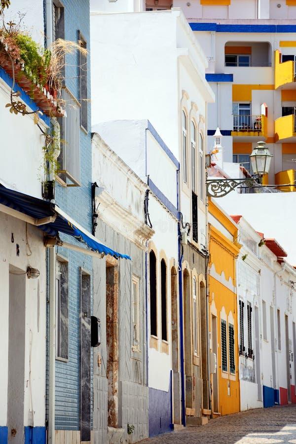 Rua velha da cidade, Lagos, Portugal fotos de stock royalty free