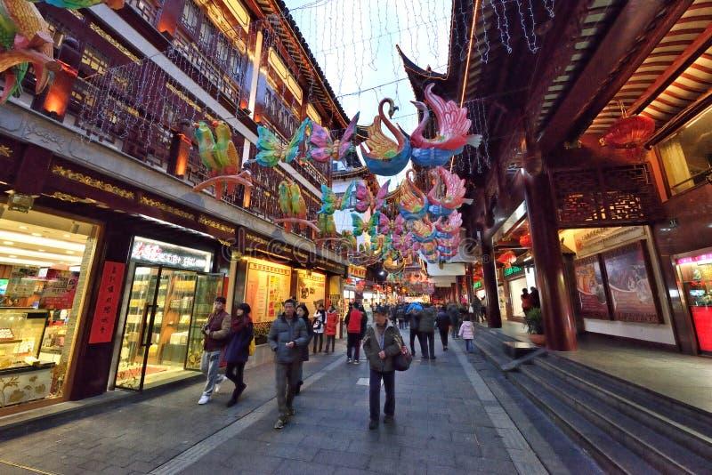 Rua velha tradicional chinesa fotografia de stock