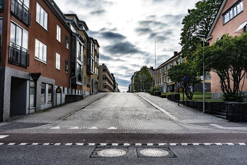 Ruas da cidade foto de stock