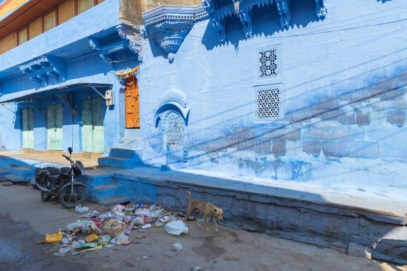 Ruas de Jodhpur imagens de stock royalty free