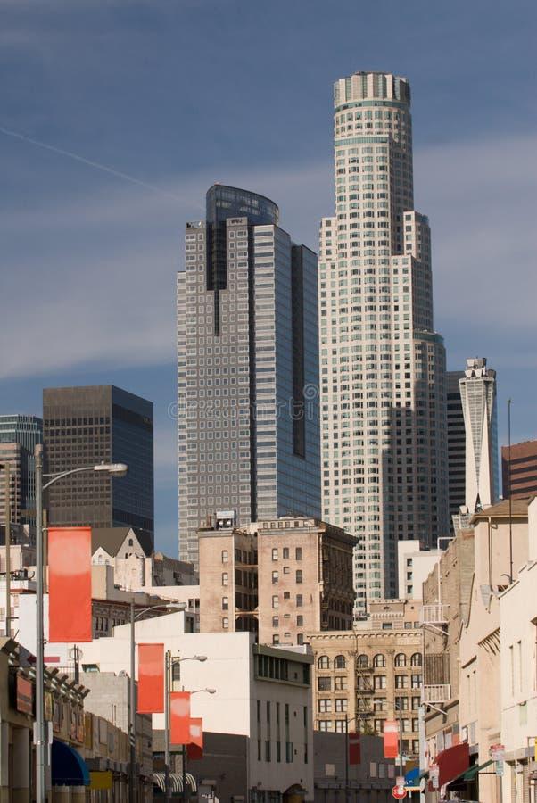 Ruas de Los Angeles fotografia de stock royalty free