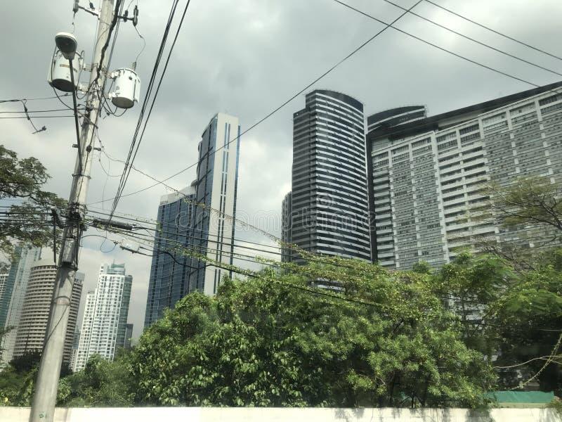 Ruas de Manila imagens de stock