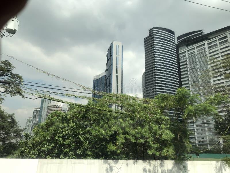Ruas de Manila foto de stock royalty free