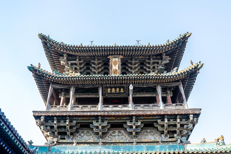 Ruas em cidades chinesas antigas imagem de stock royalty free