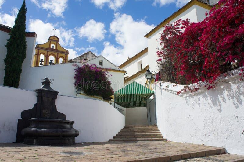 Ruas em Malaga, Espanha fotografia de stock royalty free