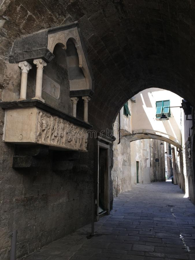 Ruas italianas foto de stock royalty free