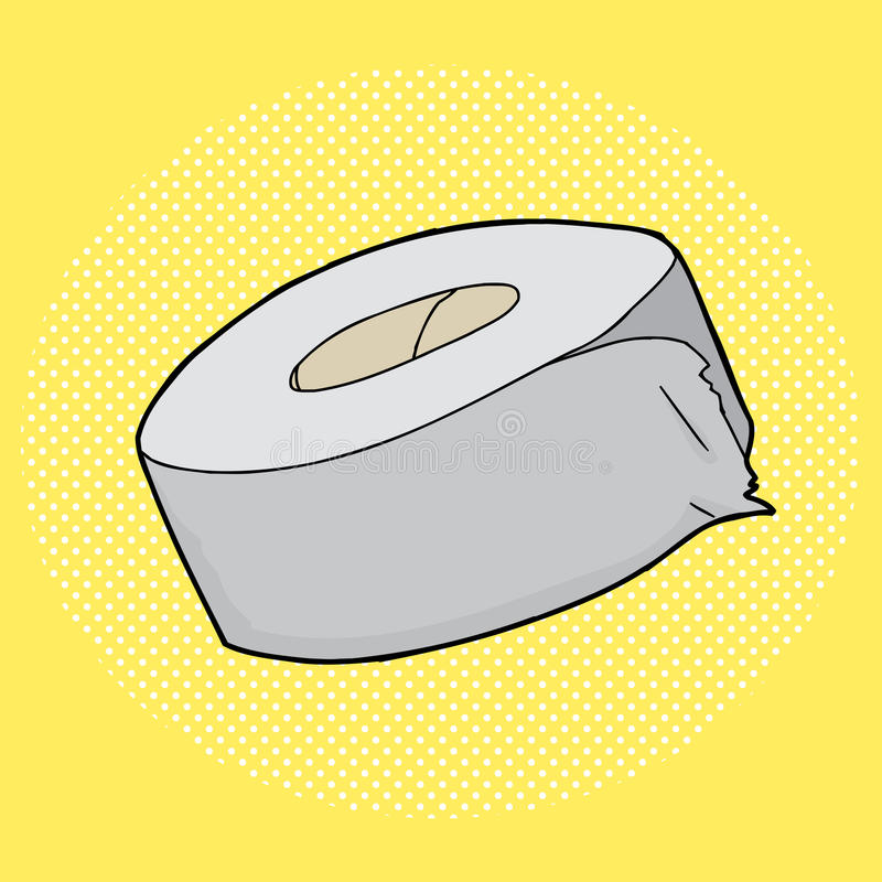 Ruban adhésif illustration stock