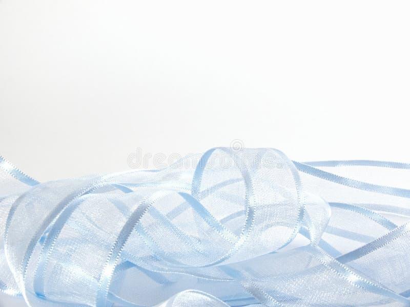 Ruban bleu-clair illustration de vecteur